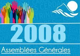 Assemblées générales 2008