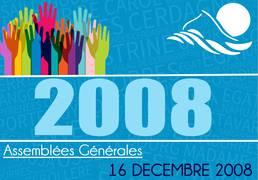 Assemblée Générale 16/12/2008