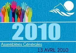 Assemblée Générale 13/04/2010