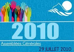 Assemblée Générale 29/07/2010