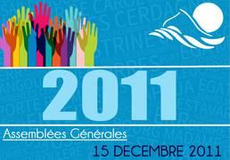 Assemblée Générale 15/12/2011