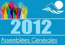 Assemblées Générales 2012
