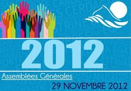 Assemblée Générale 29/11/12
