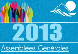 Assemblées Générales 2013