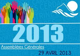 Assemblée Générale 29/04/13
