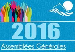 Assemblées Générales 2016
